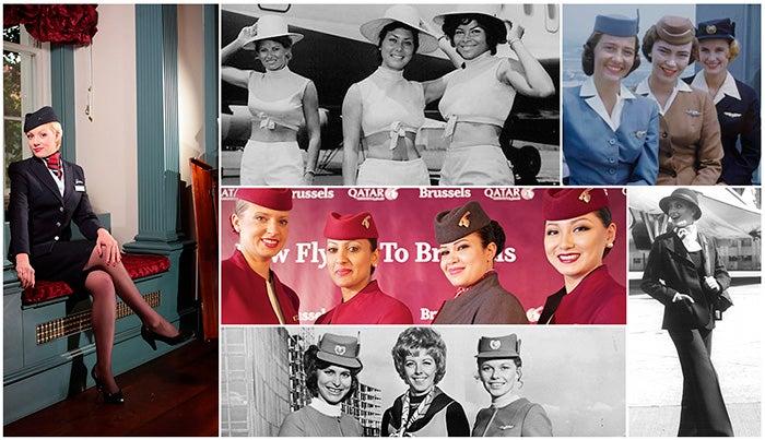 Uniforms flight attendants