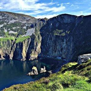 seaside cliffs along the wild atlantic way ireland