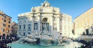 tourists surround the trevi fountain in rome, 20 Things to Do in Rome