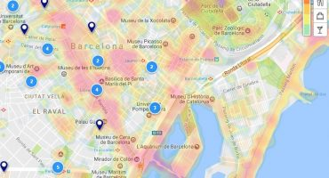 Find the best hotel with the new heatmaps feature