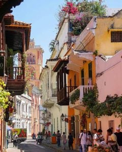 the historic centre in cartagena colombia