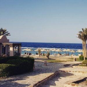 a beachside resort in el quseir egypt