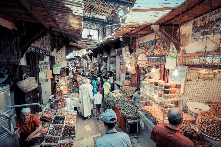 Old Medina - Fez in Morocco