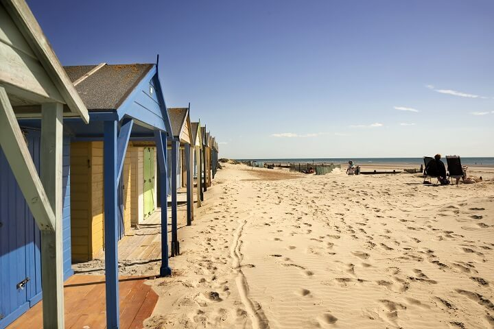 Huts on West Wittering beach, Sussex