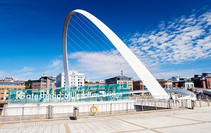 Newcastle_Opodo Travel Blog_Gateshead's Millennium Bridge