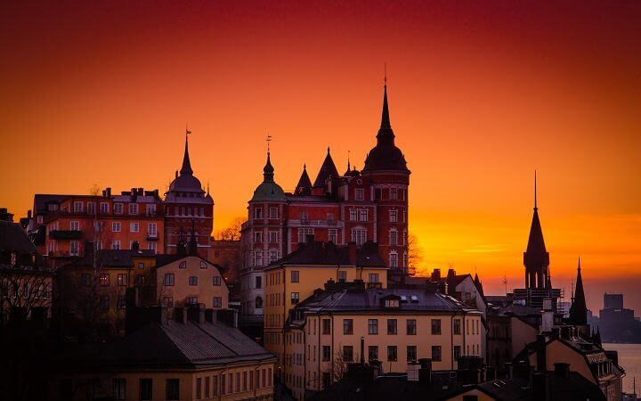 13 Stockholm - stunning sunsets - Opodo travel Blog