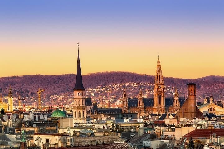 15 vienna - stunning sunsets - Opodo travel Blog