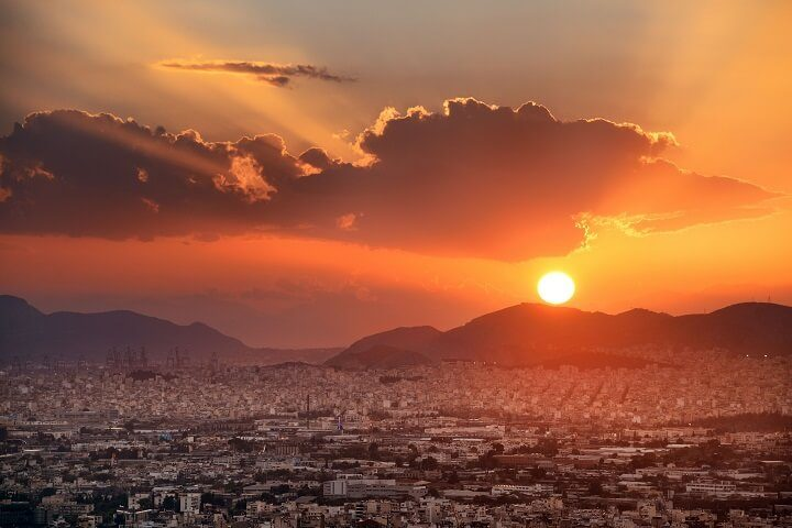 2 athens - stunning sunsets - Opodo Travel blog
