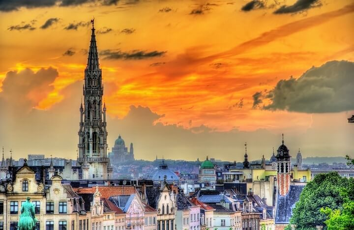 4 Brussels - stunning sunsets - Opodo Travel blog