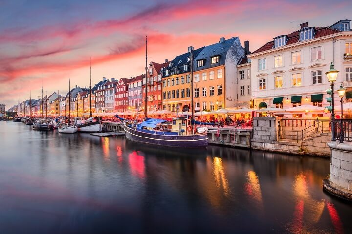 5 Copenhagen - stunning sunsets - Opodo Travel Blog