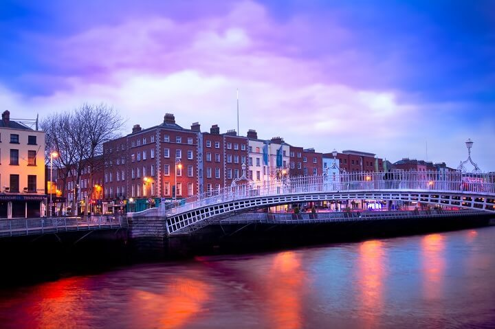 6 Dublin - stunning sunsets - Opodo Travel Blog