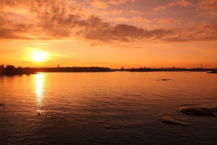 7 Helsinki - stunning sunsets - Opodo Travel Blog