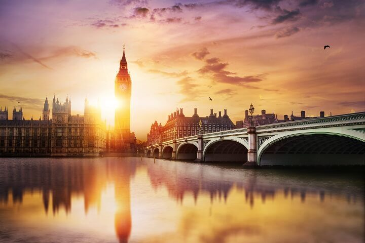 9 London - stunning sunsets - Opodo Travel blog