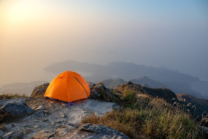 Sunset Peak Lantau IslandA