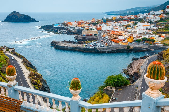 View of Tenerife in Winter