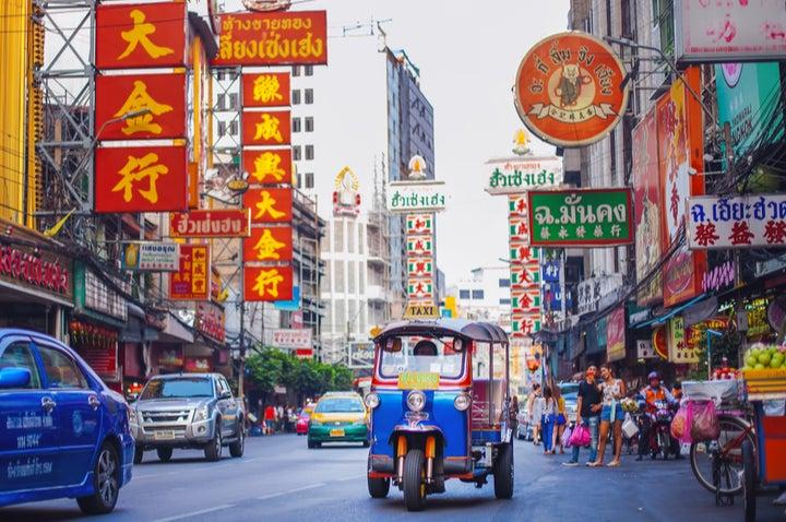Bangkok at Christmas time