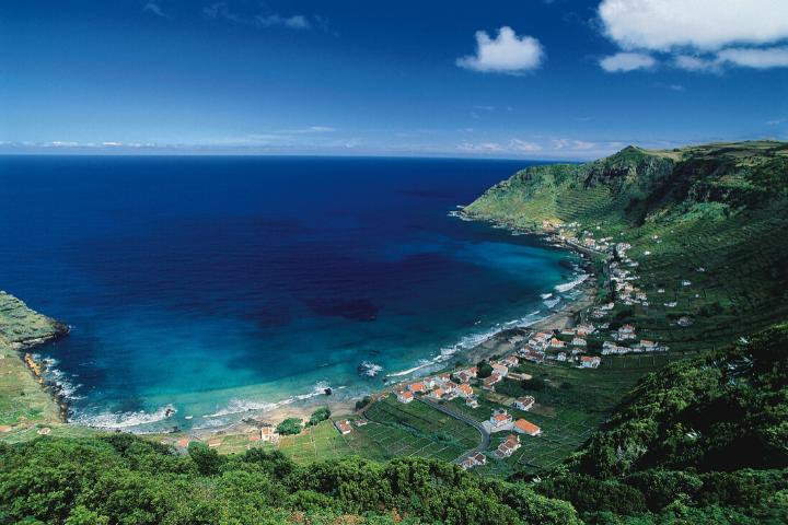 View on a bay - Santa Maria, Azores