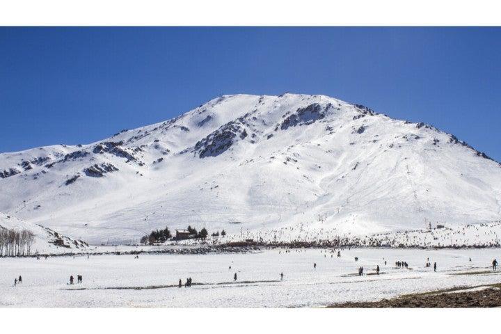 Oukaimeden ski slopes - Morocco