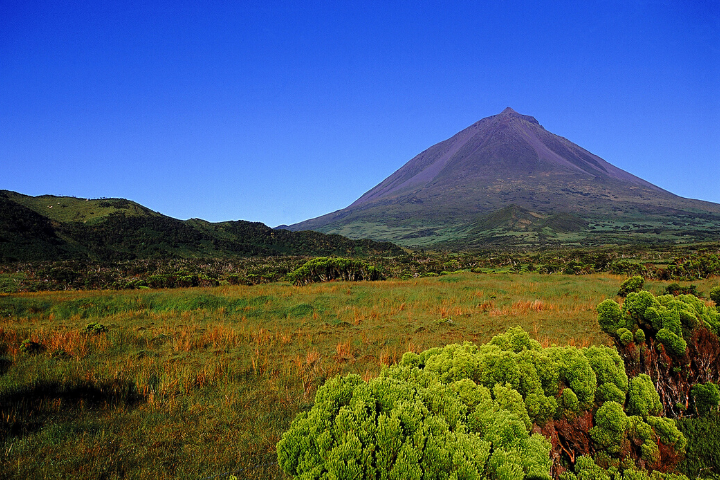 Pico Island's volcanic cone - Azores