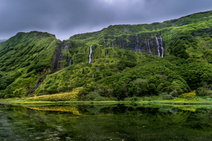 Waterfalls - Flores island - Azores