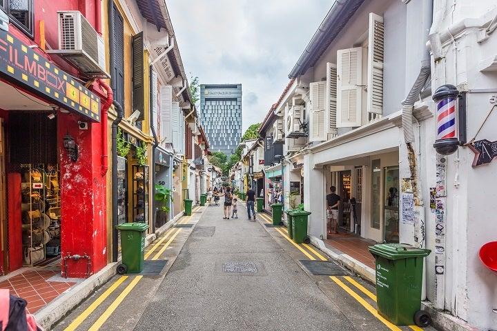 Singapore off the beaten track