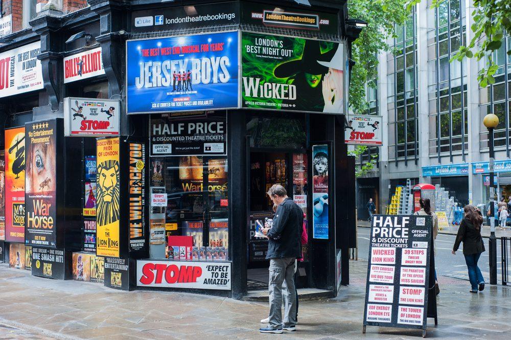 Theatre shop in London