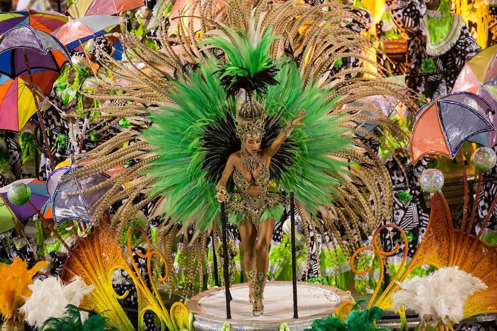 Dancer at Rio de Janeiro Carnival