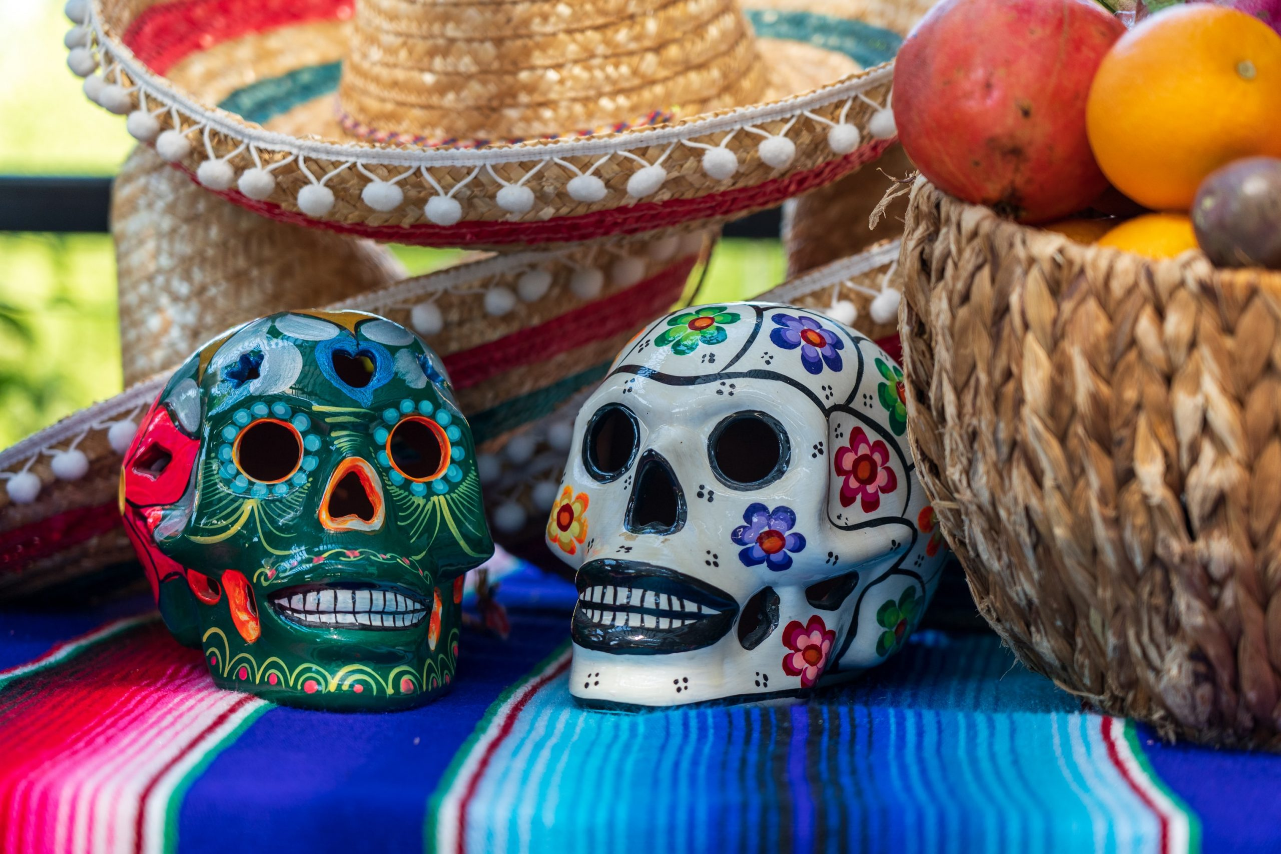 Mexico's day of the dead in November