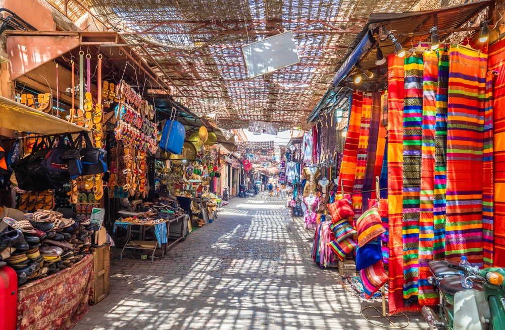 Jamaa El Fna Market in the Marrakech medina