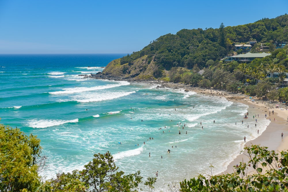 Byron Bay, Watego beach in Australia