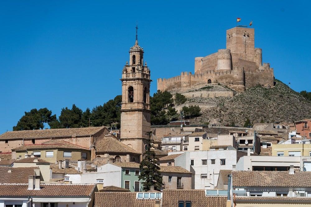 Castillo de Biar, province of Alicante, Valencian Community