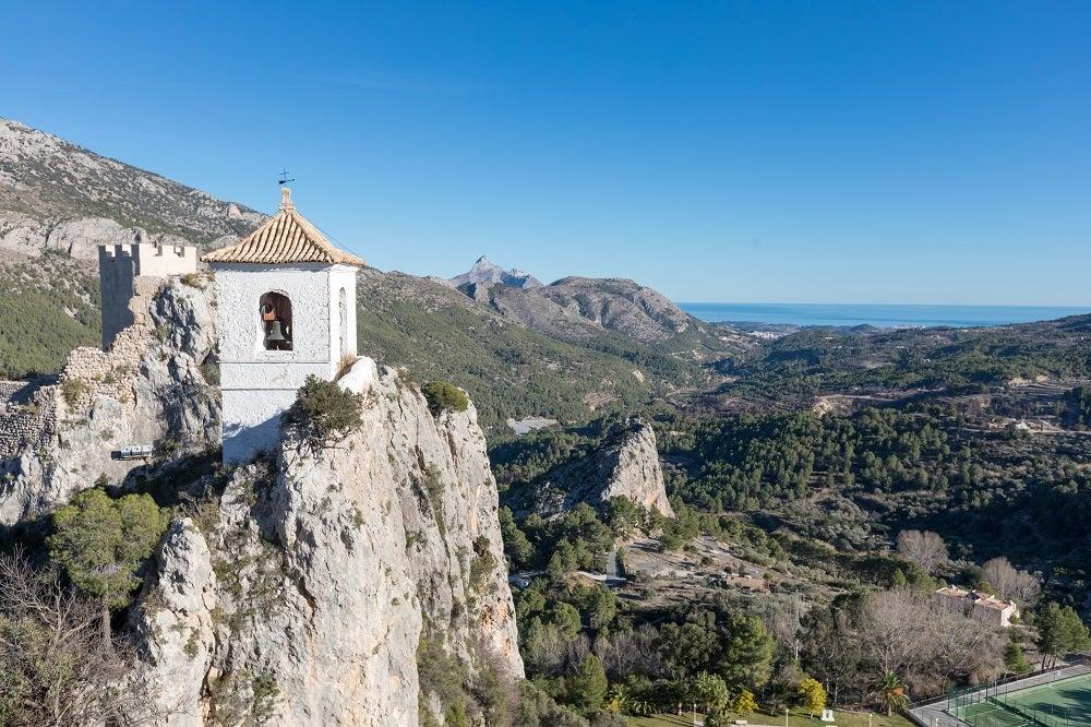Castillo de Guadalest, best castles in the valencian community