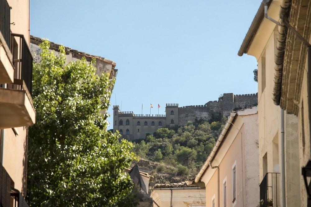 Castillo de Xàtiva, province of Castellon