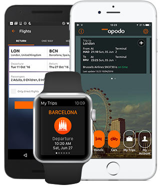 Travel app: Book cheap flights, hotels and holidays - Opodo