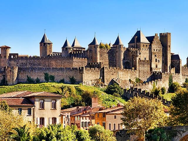 Book cheap Carcassonne flights with Opodo