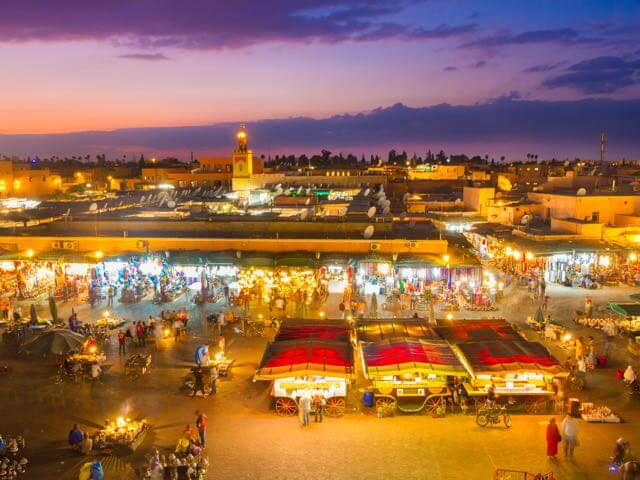 Book cheap Marrakech  flights with Opodo