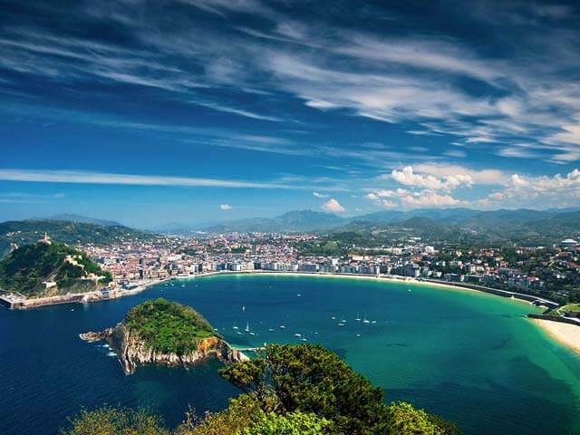 Book cheap San Sebastian flights with Opodo