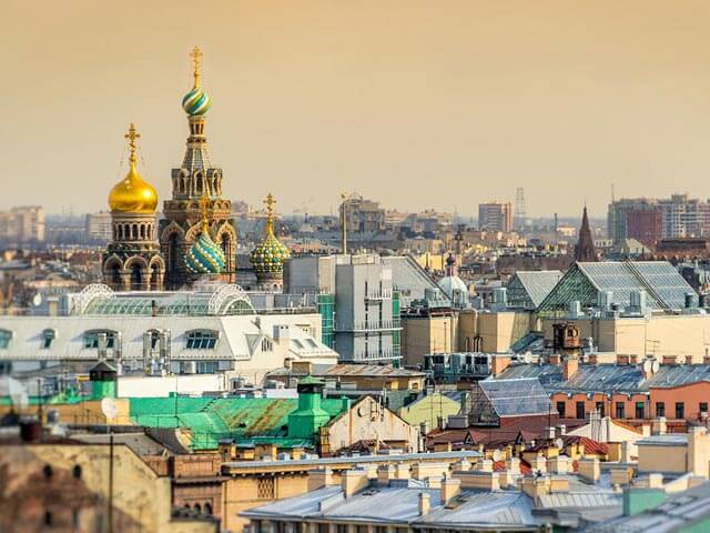 Book cheap St Petersburg flights with Opodo