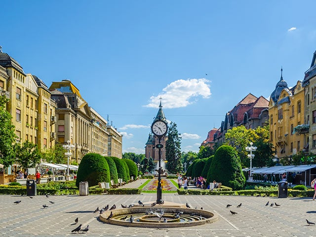 Book cheap Timisoara flights with Opodo