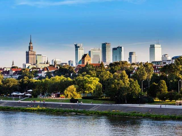 Book cheap Warsaw flights with Opodo