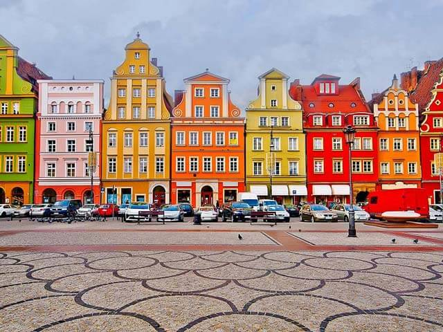 Book cheap Wroclaw flights with Opodo